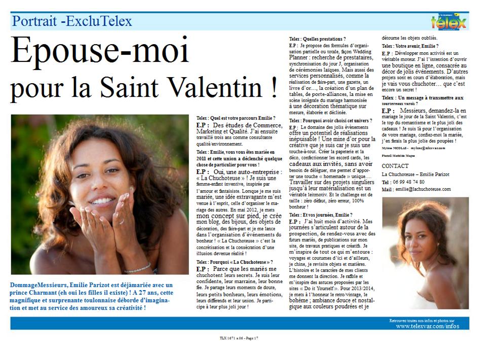 Interview La Chuchoteuse